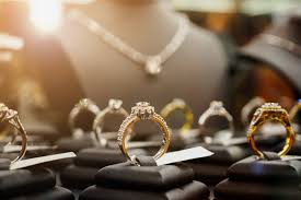 Diamond jewelry in stores are sanitized during the pandemic