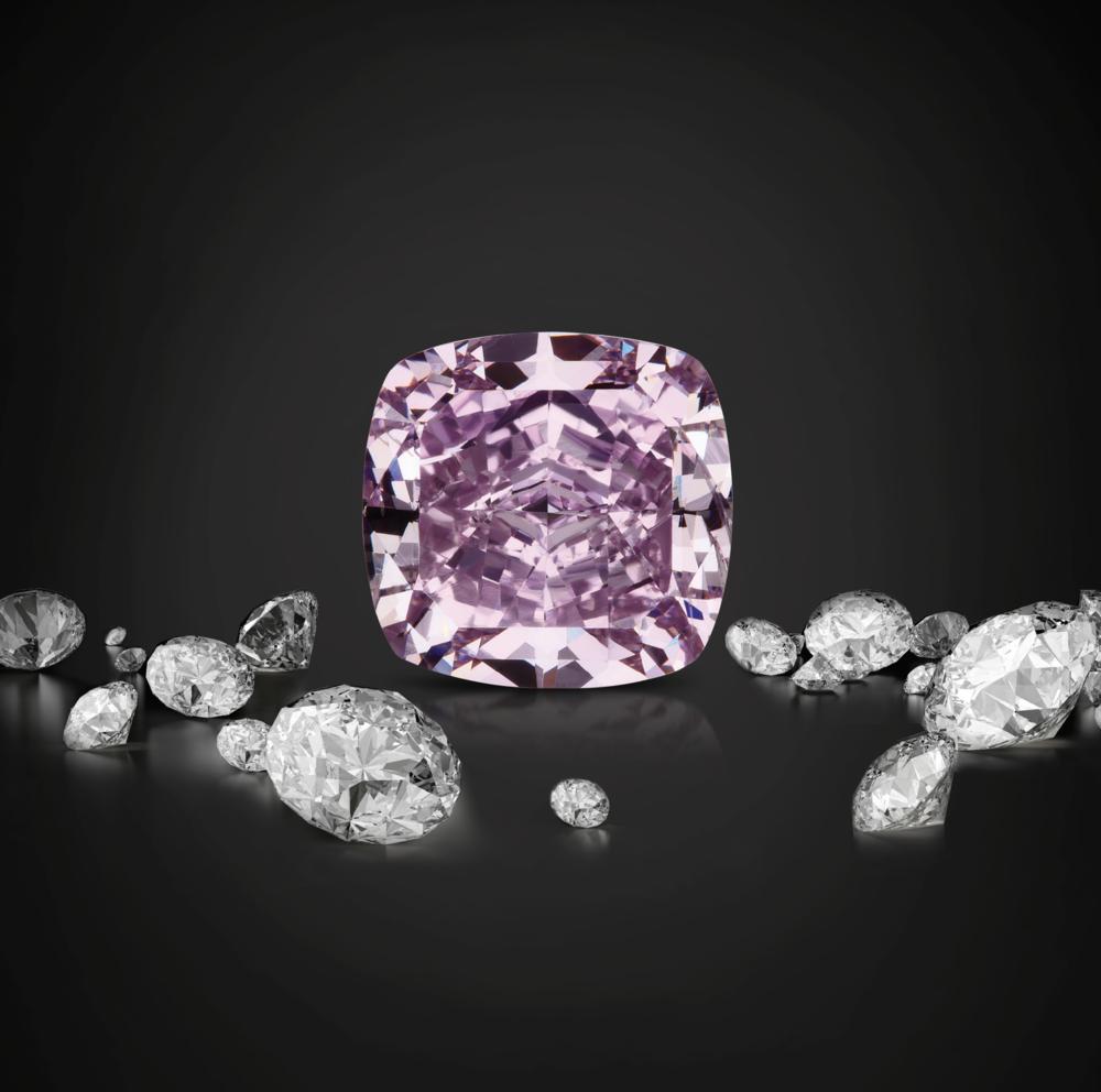 Exquisite lilac diamond