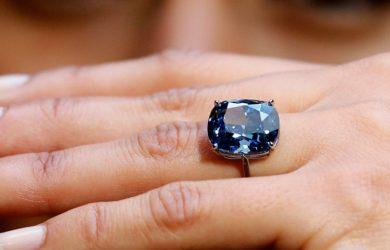 Rare and stunning blue