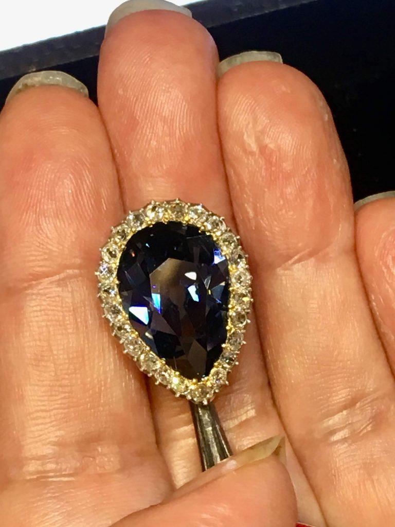 Exquisite blue diamond