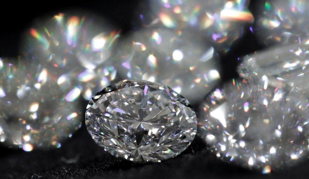 The sparkle of this diamond set it apart.