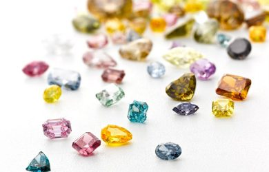 Colored diamonds of every shape and size