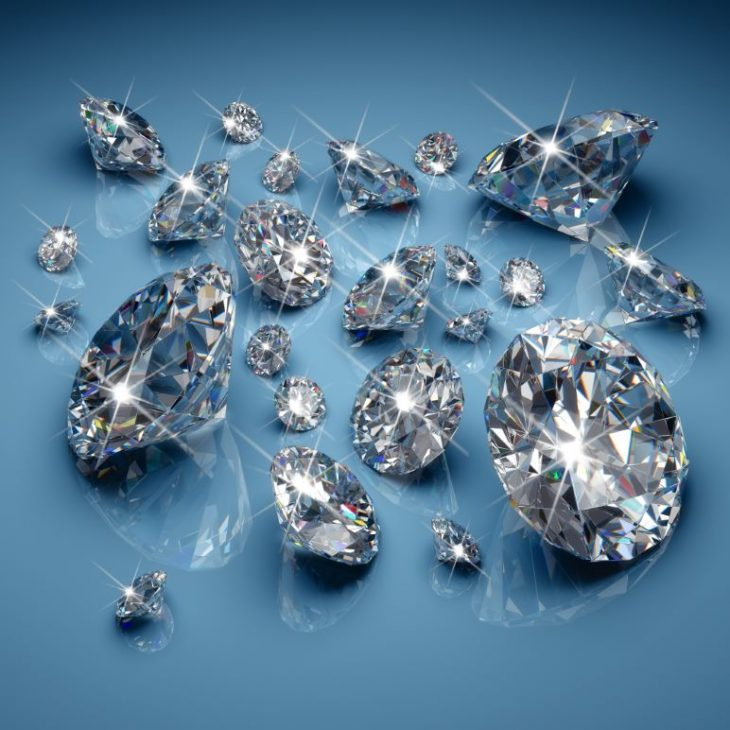 Enhanced diamonds emit fabulous sparkle.