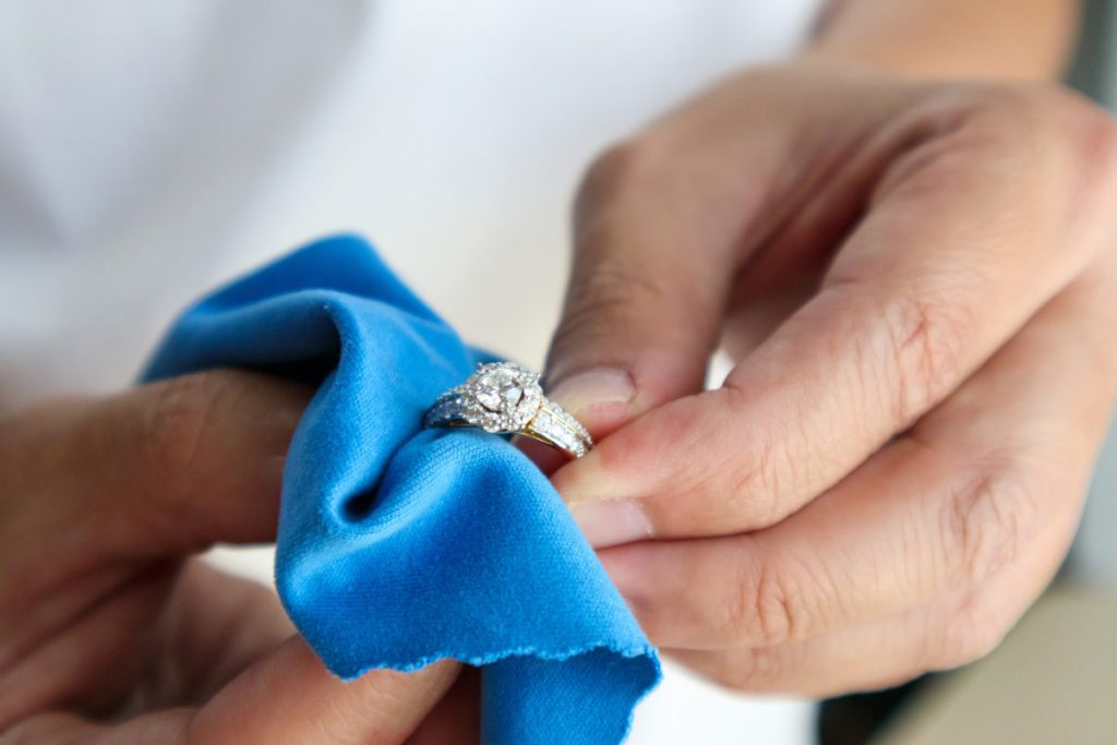 Cleaning your diamonds in between handwashing during the pandemic