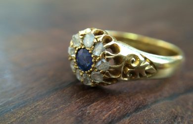 Stunning heirloom engagement ring