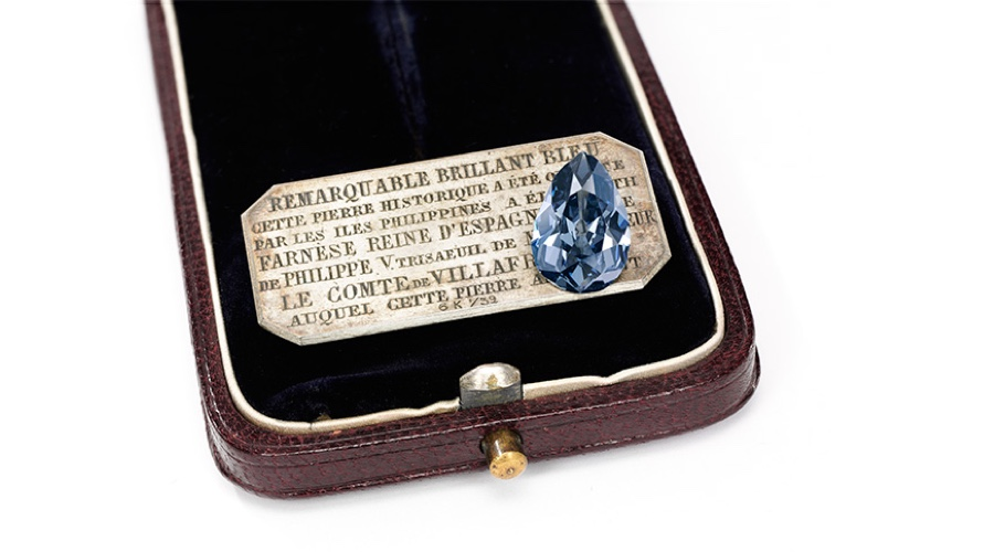 Historic blue diamond auction exceeds expectations — sold for $6.7 million