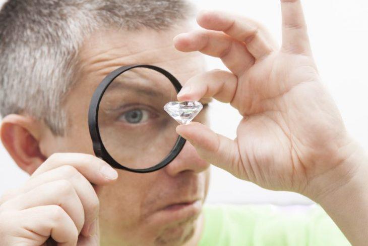 Large CED clarity enhanced diamond.