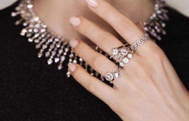 Lab-grown diamonds sparkle