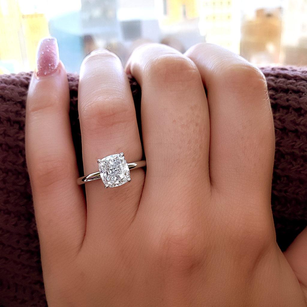 Stunning diamond ring