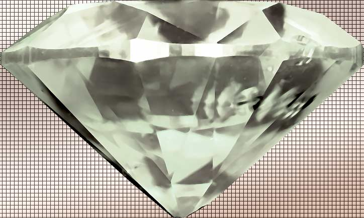 Large Diamond on tile background