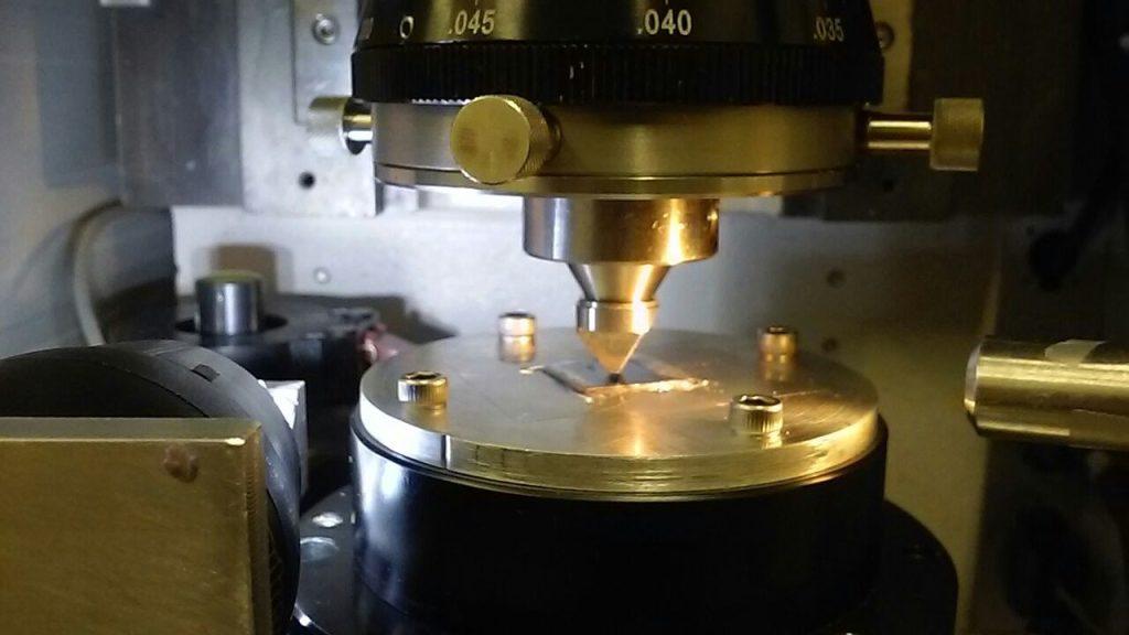 Precision diamond laser