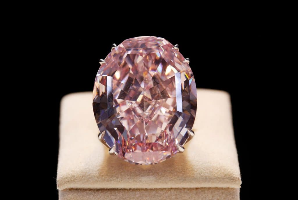 Fancy diamonds are pricey because they are extremely rare.