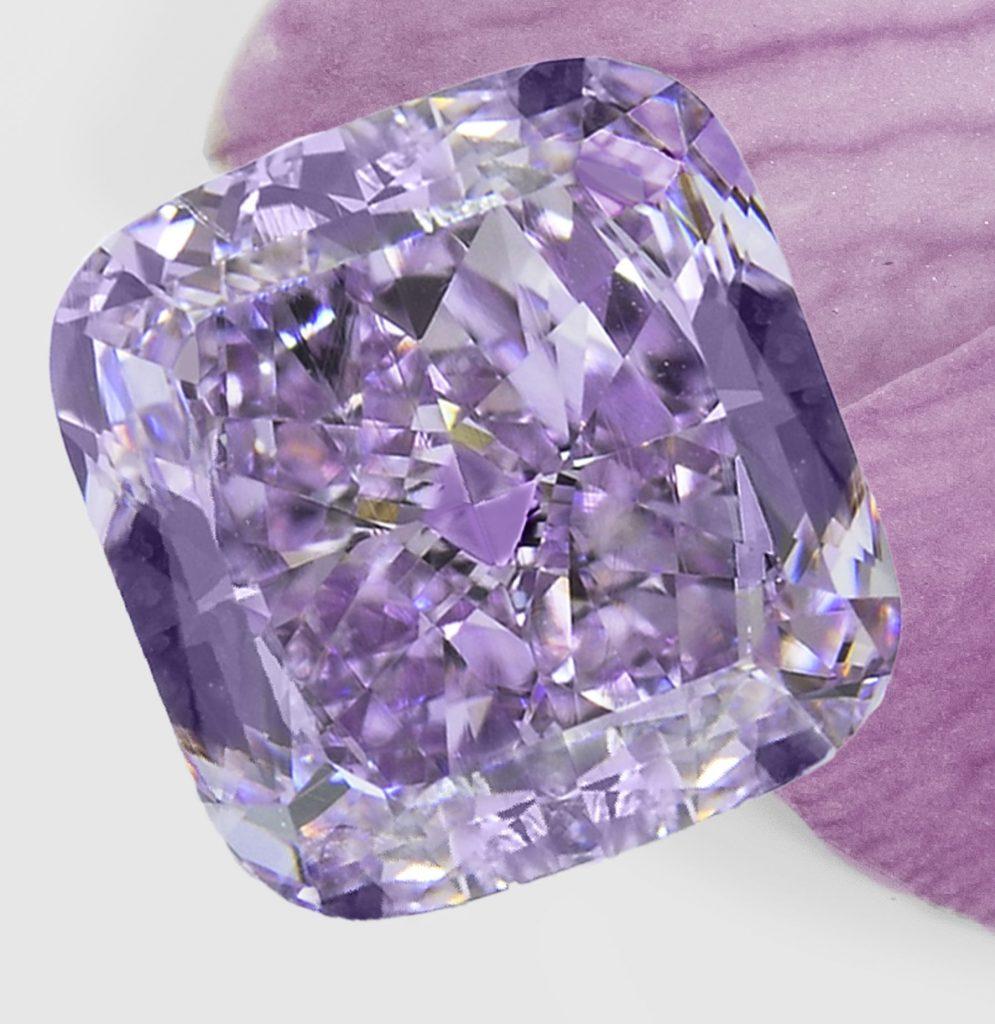 Stunning Purple Orchid diamond