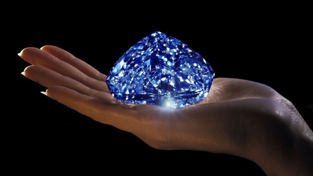 Rare, huge diamonds are expensive diamonds.
