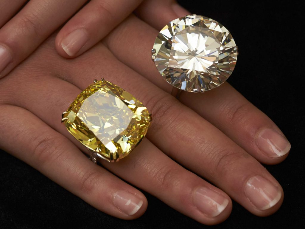 Which is the real diamond?
